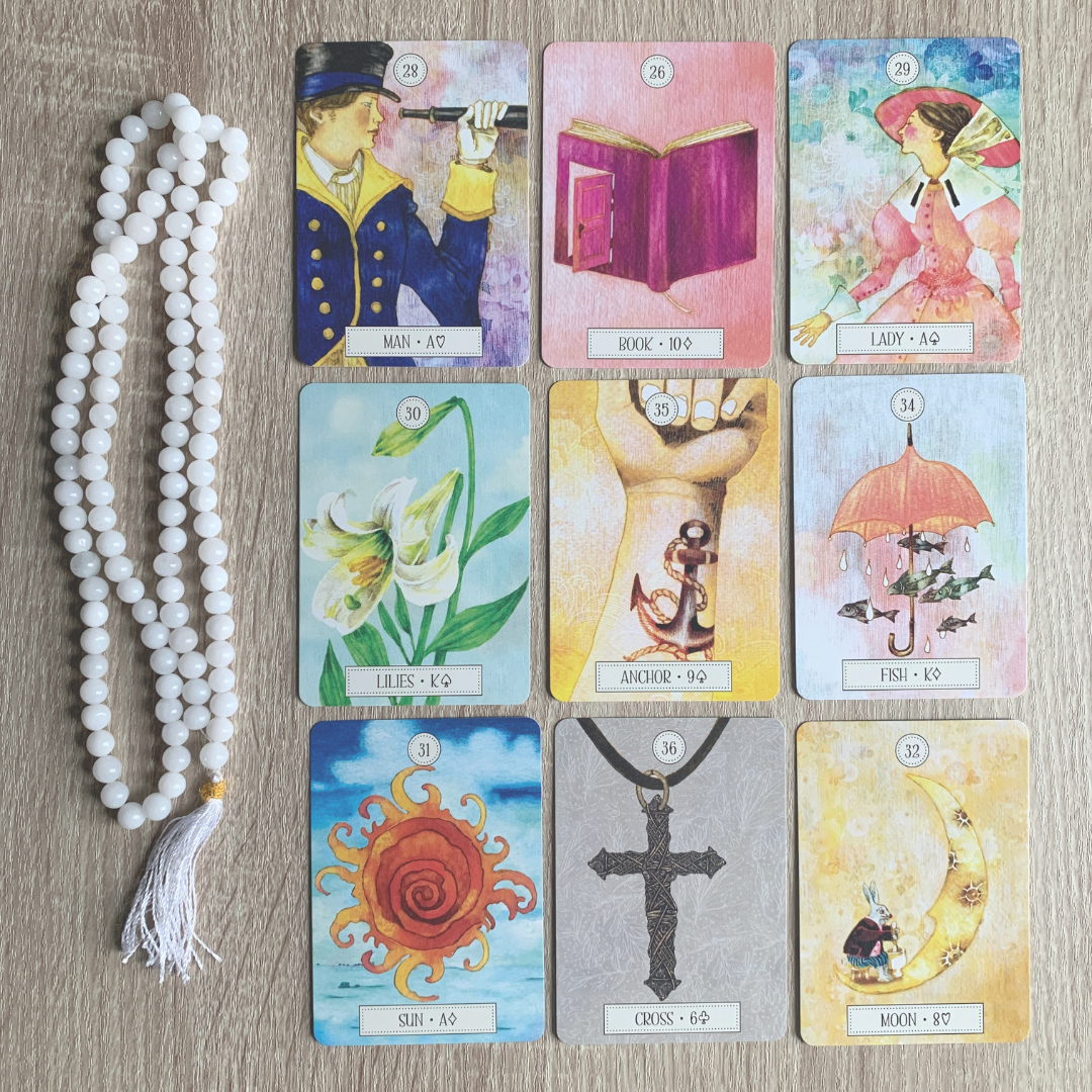 The Dreaming Way Lenormand Deck.