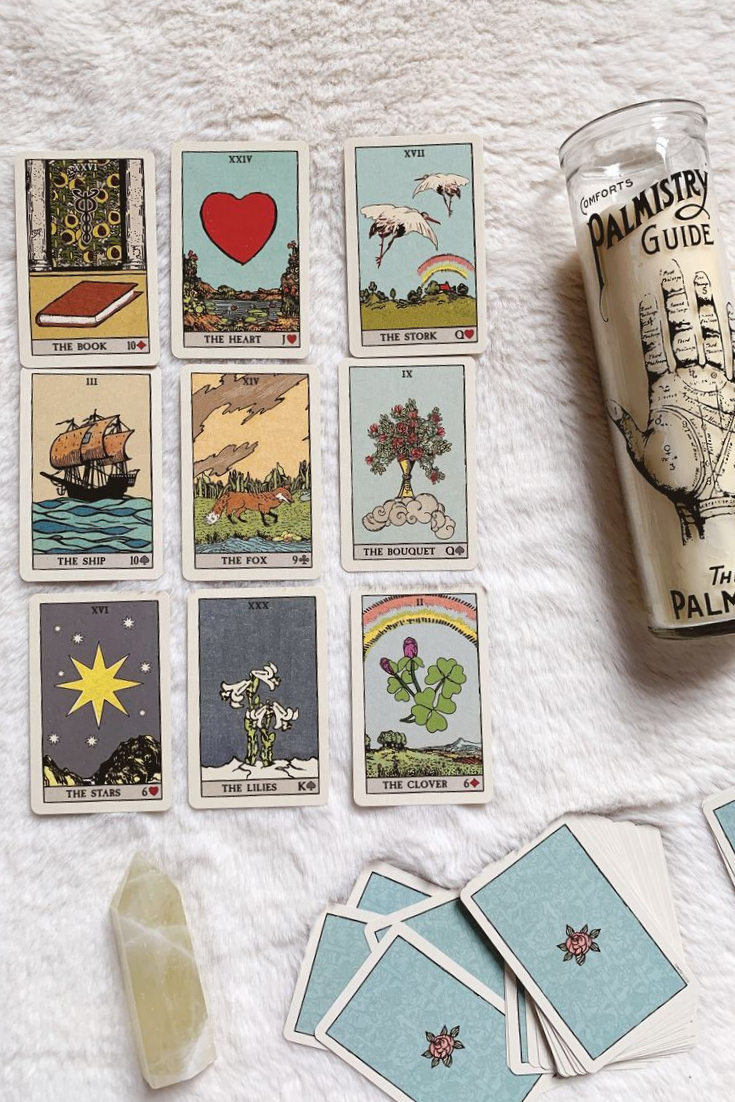 Cards used in this post are from Pixie's Astounding Oracle which you can grab  here .