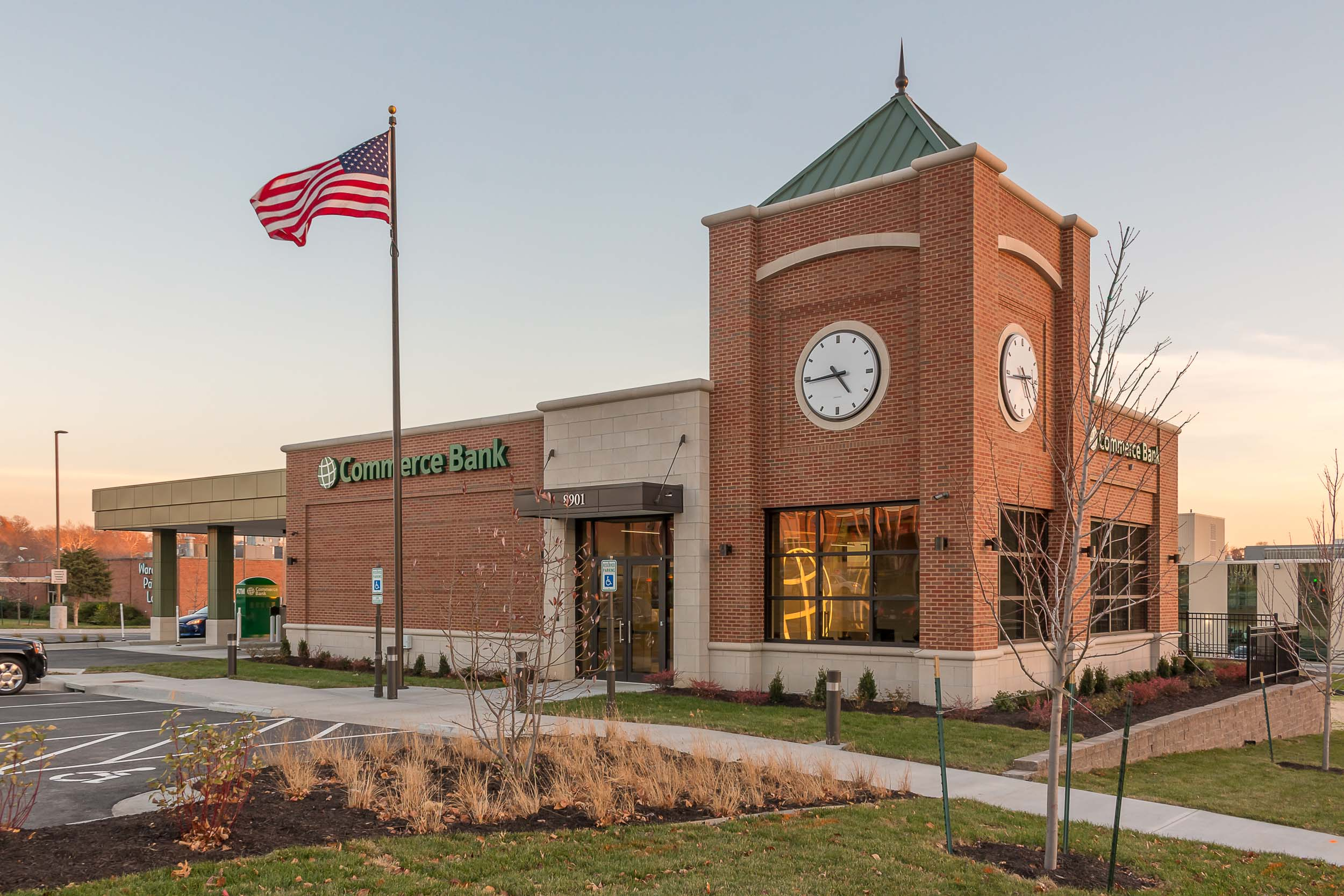 Commerce Bank, multiple locations