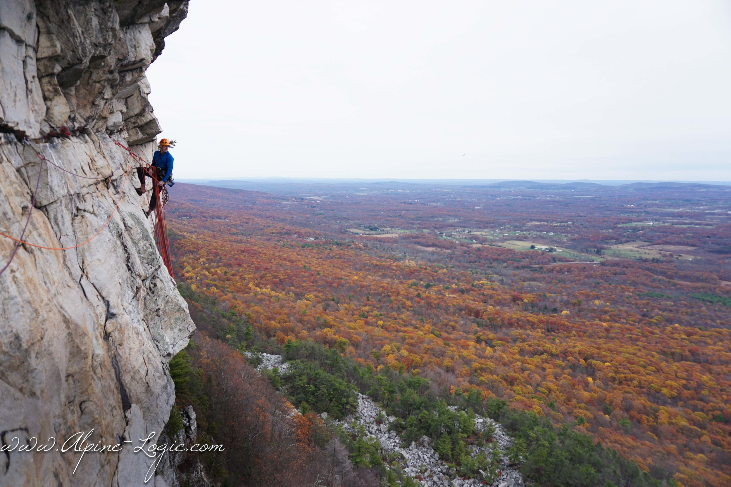 Gunks climbing guide