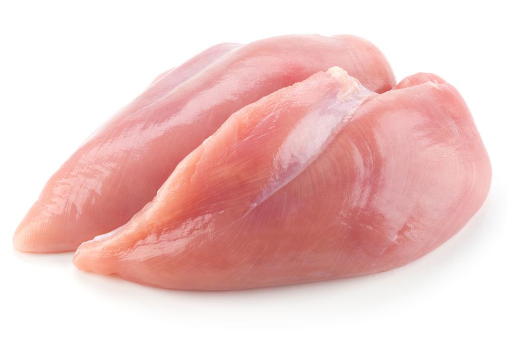 Poitrine de poulet de grain.$4.99/ Lb -