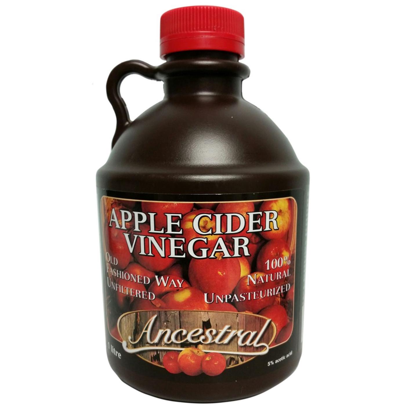 Vinaigre de cidre de pommes. $4.99 -