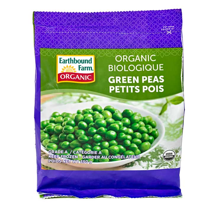 Earthbound green peas. $3.99 -