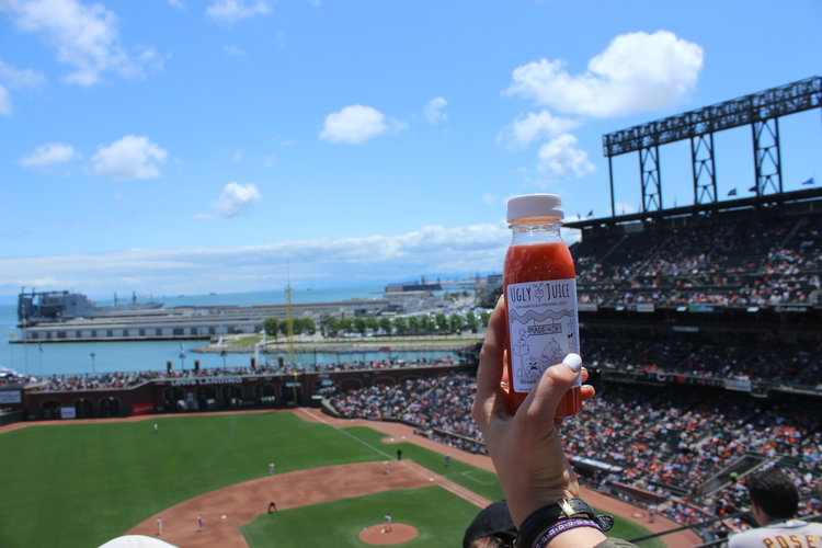 Thanks for taking us out to the ballgame! - We had an awesome time at the game for our UJ team outing :) We even brought orange juice to celebrate!
