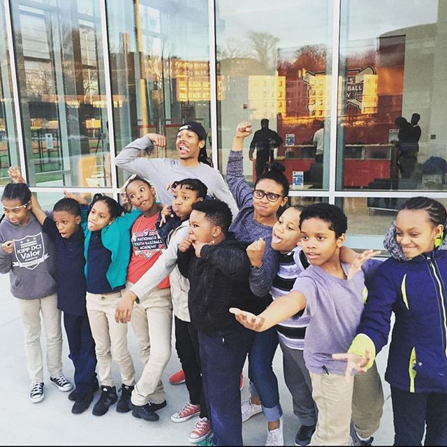 3 years ago with our theater improv students at the @natsacademy 🎭 #theaterkids #artseducationmatters #artseducation #natsacademy #TBT