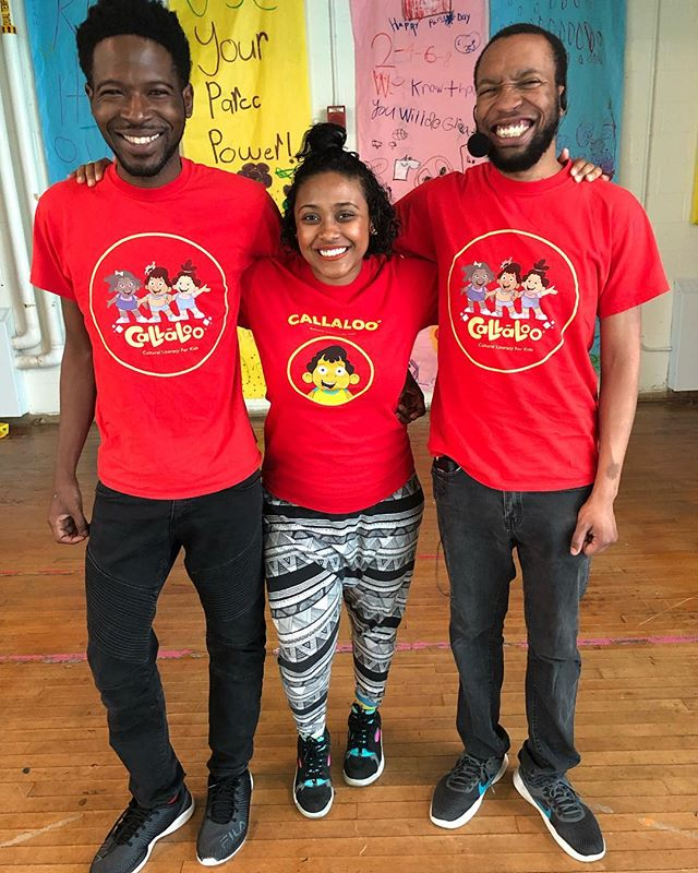 Our Callaloo in the Classroom program has been serving schools and organizations for 5 years! Thanks @eagleacademypcs for being our partner! #artseducation #kidsprogramming #childrensbooks #performance #arts #childrenstheatre #dcarts #dcartseducation