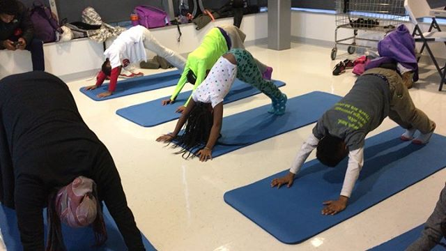 #tbt to our yoga class at the @natsacademy 🧘🏾♀️ #yoga #yogi #artseducation #mindfulness #dcarts #kids #yogakids #eastoftheriver #communityarts