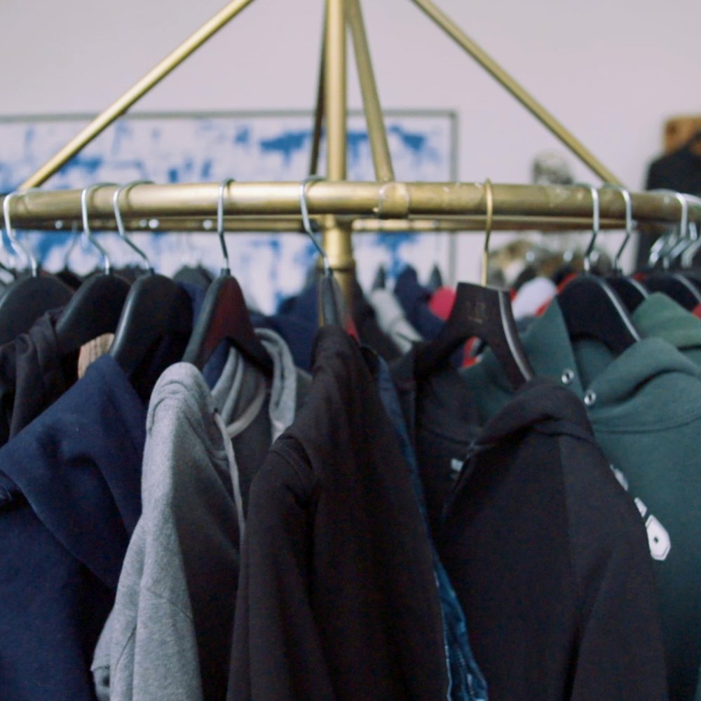 Donate Hoodies - For our '2019 For The Greater Hood Pop-Up Shop' we're hoping to collect over 3,000 hoodies & jackets of all sizes from infants to adults. And we're accepting other cold weather accessories as well, including scarves, hats, and gloves. We'd really appreciate if donations could be new or lightly used.