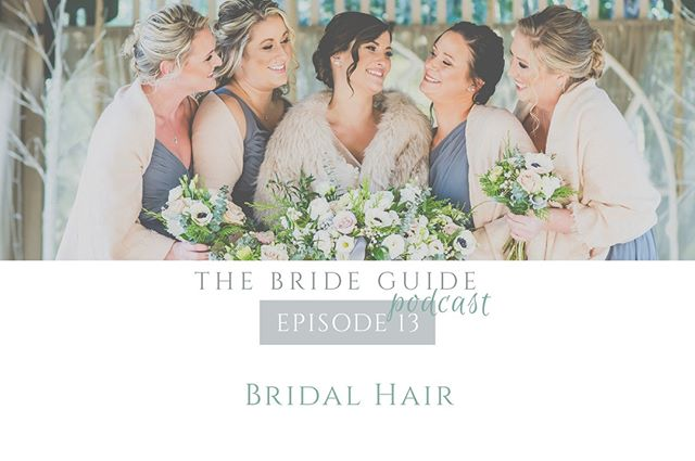 In this week's episode out now, we chat with Sam of @sweethairpeace all about recent hair trends, reasons you should do a trial, and suggestions for your wedding morning. 💁🏼‍♀️ ⠀⠀⠀⠀⠀⠀⠀⠀⠀ .⠀⠀⠀⠀⠀⠀⠀⠀⠀ .⠀⠀⠀⠀⠀⠀⠀⠀⠀ .⠀⠀⠀⠀⠀⠀⠀⠀⠀ .⠀⠀⠀⠀⠀⠀⠀⠀⠀ .⠀⠀⠀⠀⠀⠀⠀⠀⠀ #brideguide #thebrideguide #thebrideguidepodcast #weddingpodcast #weddingplanning #newepisode #newpodcast #bridalhair #sweethairpeace