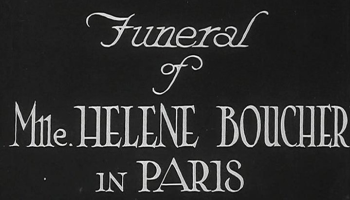 ORIGINAL FUNERAL FOOTAGE AVAILABLE VIA BRITISH PATHE -- CLICK THROUGH HERE