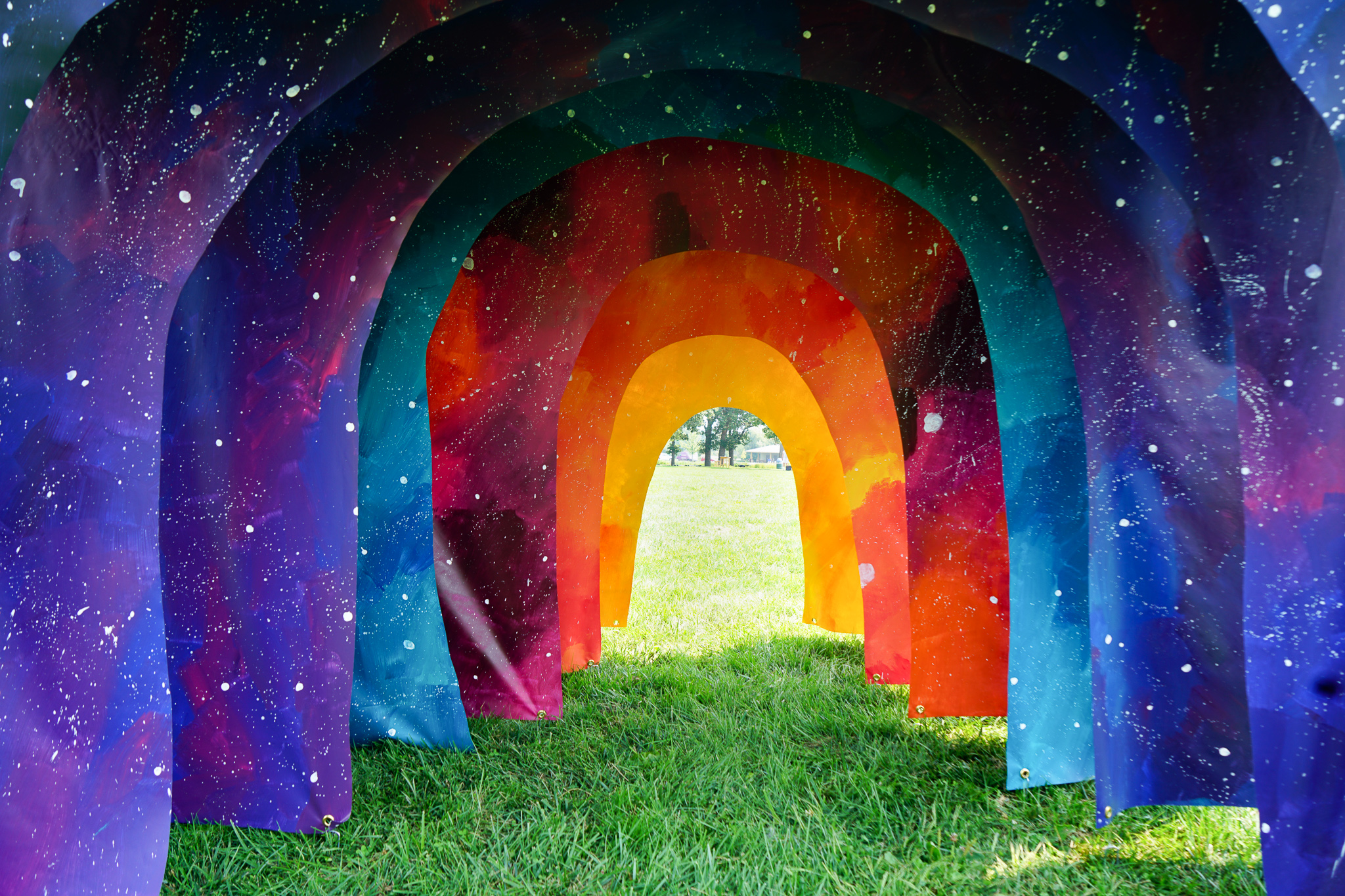 Portal  -  A Public Art Installation by Jenie Gao Studio for the 2018 Makeshift Festival