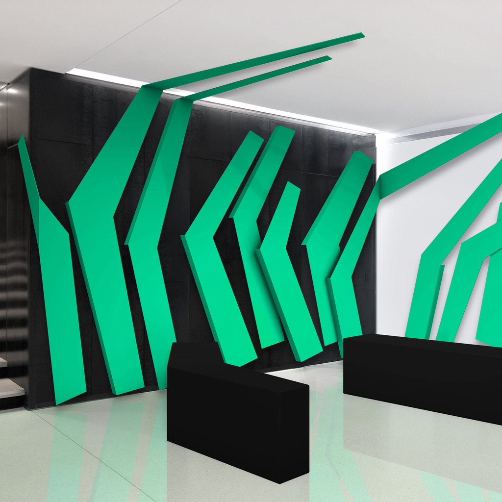 3D Wall Sculpture by Merick Reed
