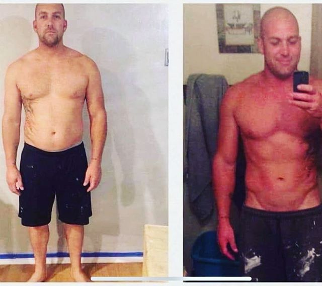 """✨ I T S  O K  T O  B E  W R O N G ✨ - Thank you 🙏🏻 Justin for showing just how OK it is to be wrong 💯 .  Check out his story 👇🏻👇🏻... . """"'Shakes are dumb, it does not work, it is a joke.' Those are the words that I consistently spoke when someone tried to tell me about this nutrition system. .  I was a competitive Strongman and Crossfit athlete that was making his way to the top until a string of injuries (a lot including torn muscles in my back and a torn rotator cuff) got the better of me. I went from 205lbs with 5% body fat working out 6 days a week to 245 lbs and 30% body fat, unable to workout, no more motivation, and depression about to take over. .  Luckily, I had a friend that cared enough about my health to get me started on this system. I was still not a believer at this point, however one week in I was hooked!! - My mentality changed, I could see the physical changes right in front of me, and everybody around me could see the positive changes taking over. .  I have never taken any form of supplements or nutrition systems that has provided me with muscle response like this. I am now a solid 219lbs with 10% body fat. I will start competing again at the end of the year and have my eyes set on winning a pro card for Strongman. I honestly never thought I would get back to this point."""" .  #FloodTheBodyWithNutrients #AndWatchWhatHappens #NutritionalCleansing  #GetYourGreatnessBack  Message me when you're ready...🙌🏻"""