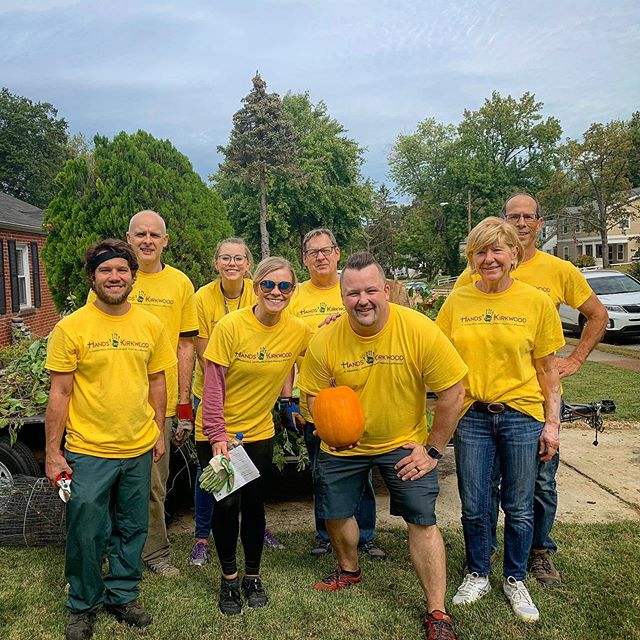 We had a great day serving the community together. Hands on Kirkwood was a great success. Thanks to all those who served our community with us. (Not pictured, Danny Moore.) #ForKirkwood #InTheCommunityForTheCommunity #MeetKnowLive