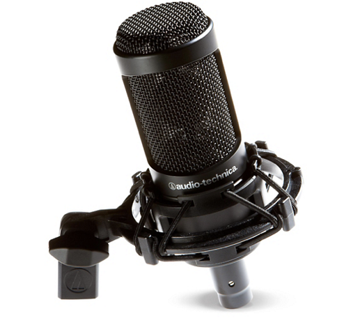 Audio-Technica AT2035 Cardioid Condenser Microphone, cost: $150.00