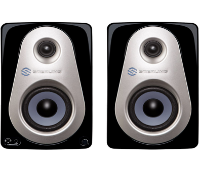 "Sterling Audio MX3 3"" Powered Studio Monitor Pair, cost: $99"