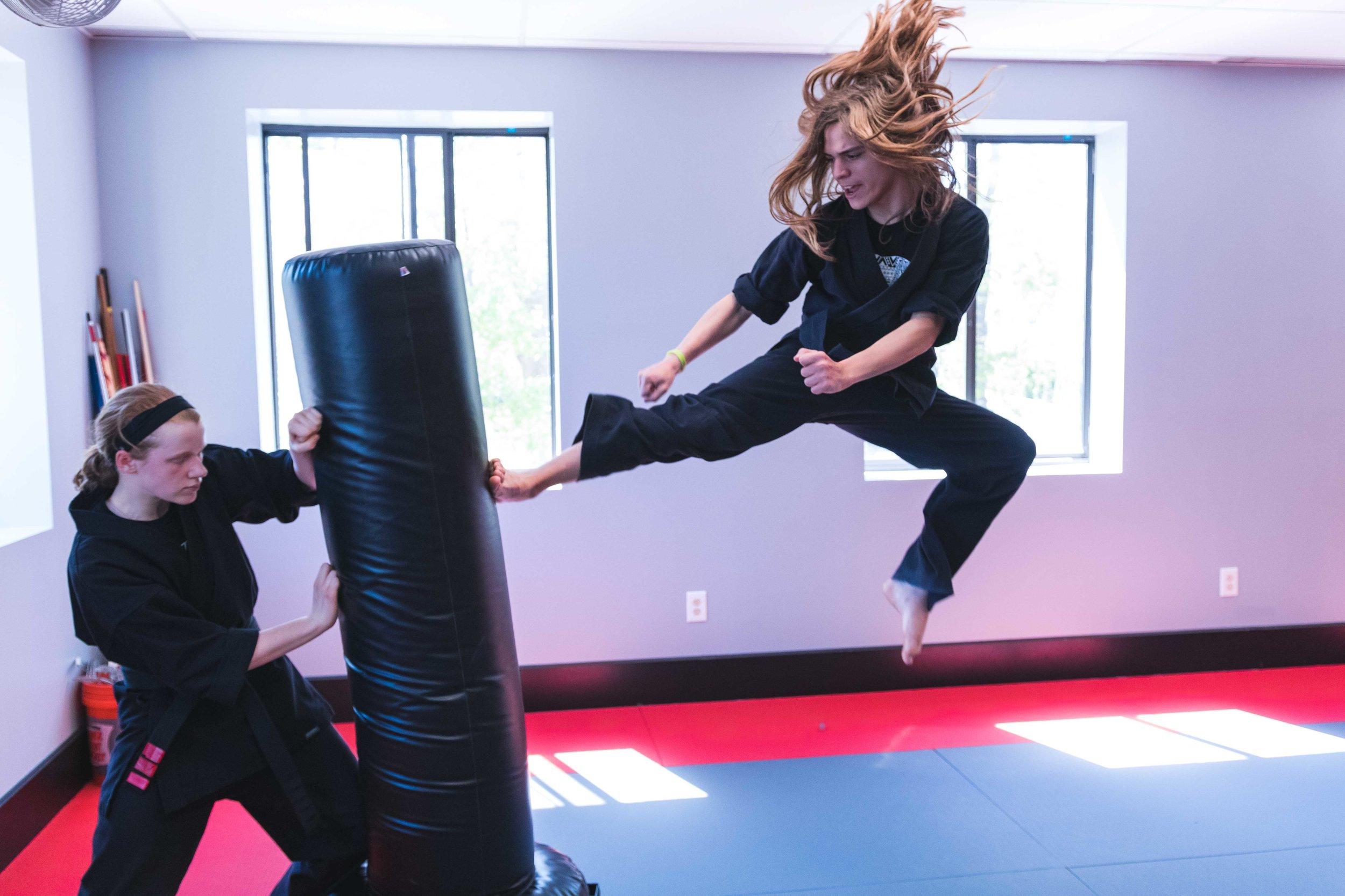 Martial Arts Classes for Teenage Girls and Boys in Bedford Massachusetts at Callahan's Karate Black Belt.jpg