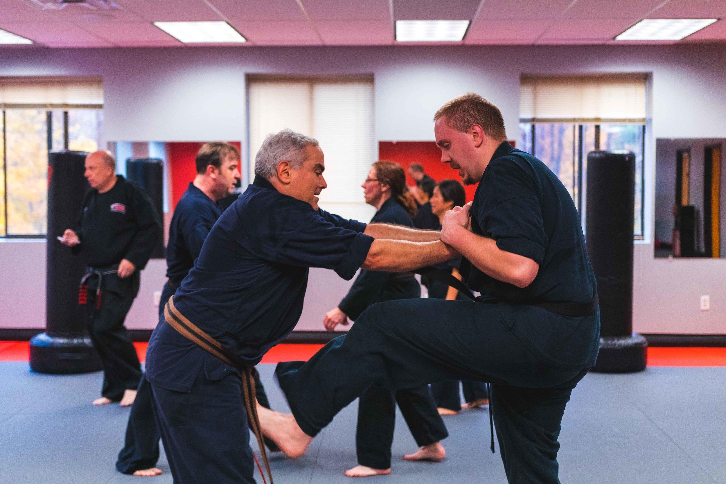 Beginner Martial Arts Classes for Adult Men and Women in Bedford Massachusetts at Callahan's Karate.jpg