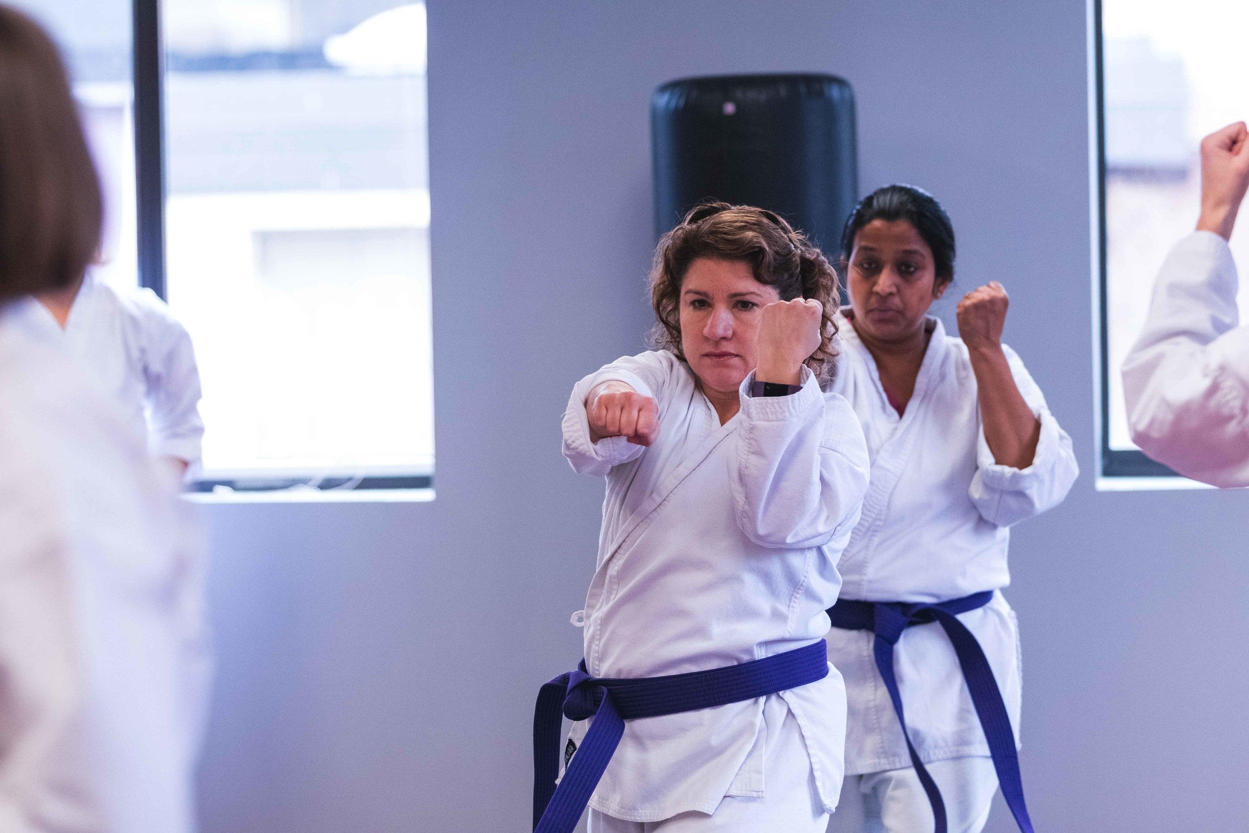 Self Defense Martial Arts Classes for Adult Men and Women in Bedford Massachusetts at Callahan's Karate.jpg