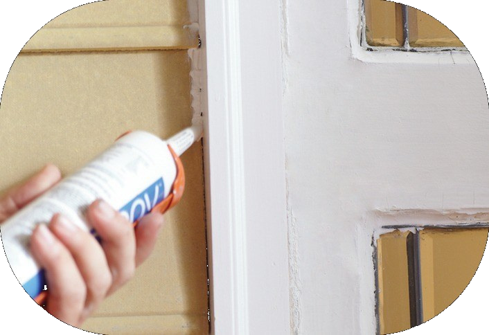 FILL TRIM GAPS - This preparation makes a great difference on the finish of your paint. Not only does it make the finished paint look amazing, it also avoids any further damages inside of the wood. It prevents mildew and cause your wood to rot. You will be saving more by protecting your wood than having it replaced when damage arises.