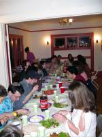 Passover Seder at the Bayit