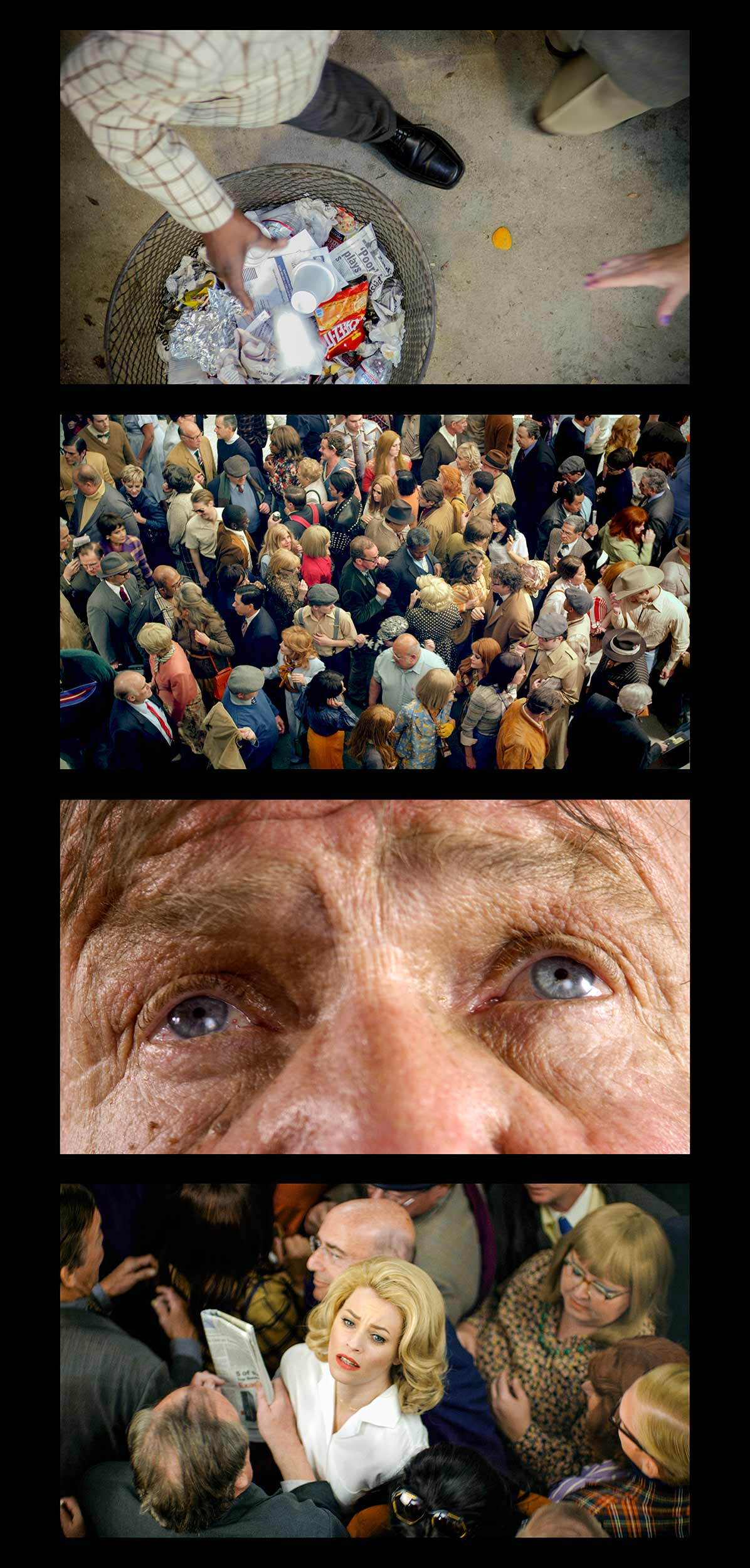 Face In The Crowd   Filmstrip #3,  2013