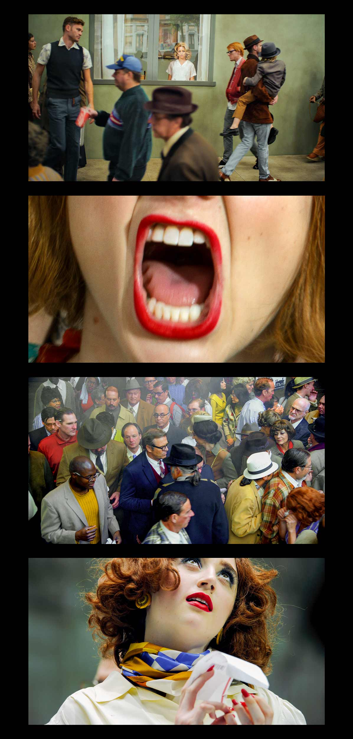 Face In The Crowd   Filmstrip #5,  2013