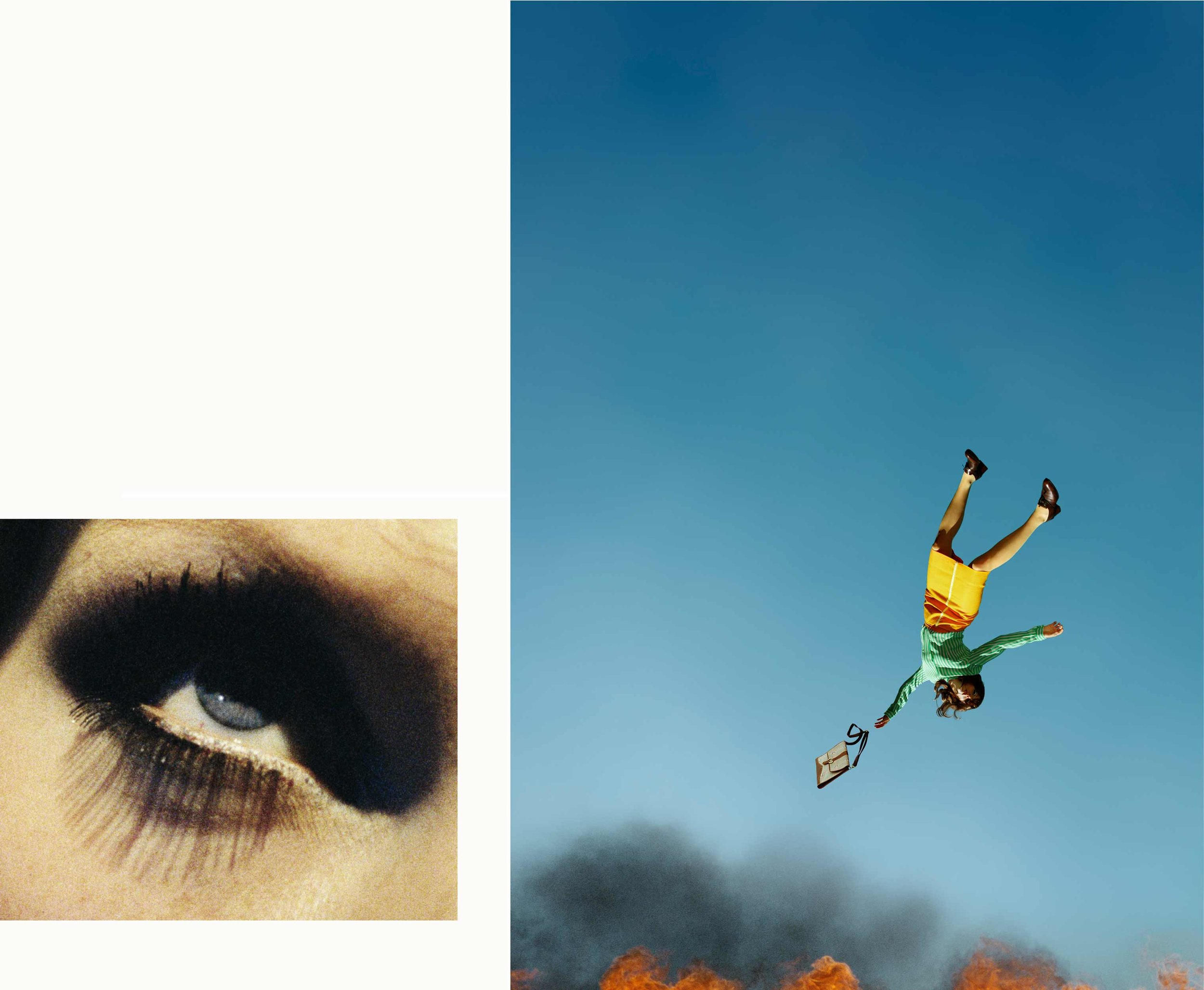 Compulsion   10:58 AM, Bunker Hill and Eye #7 (Suicide) (Diptych) , 2012