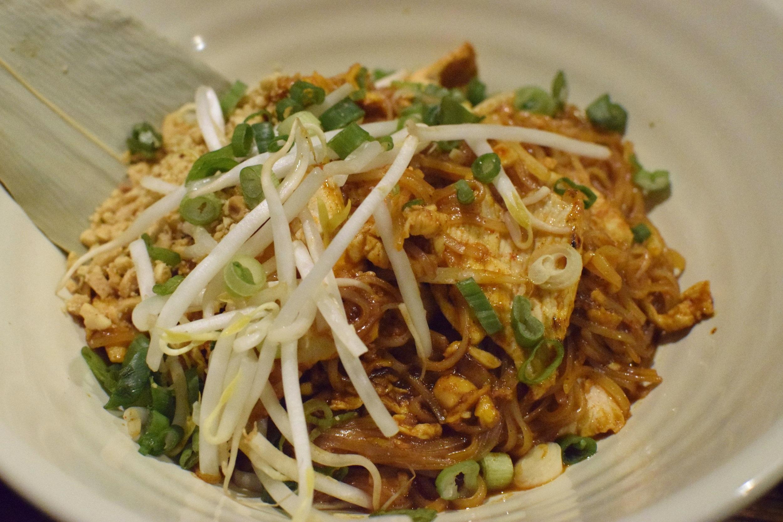 Chicken Pad Thai | Photo Credit:  Lauren Johnson
