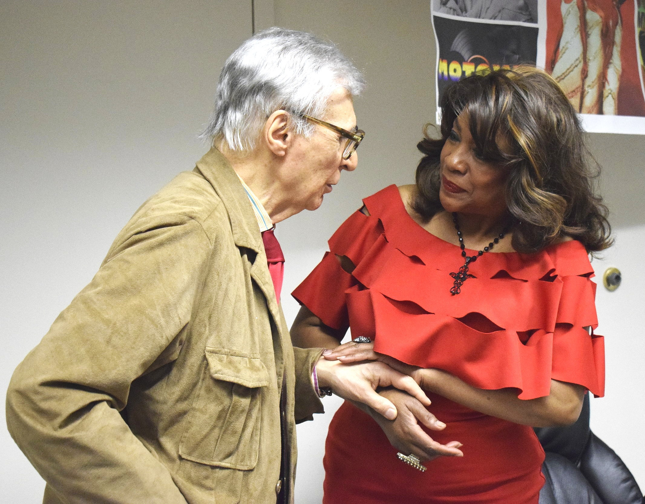 Mary Wilson and The Amazing Kreskin speak at Big Apple Comic Con | Photo Credit:  Lauren Johnson