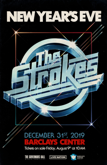 The Strokes to Headline Barclays Center on New Year's Eve.png