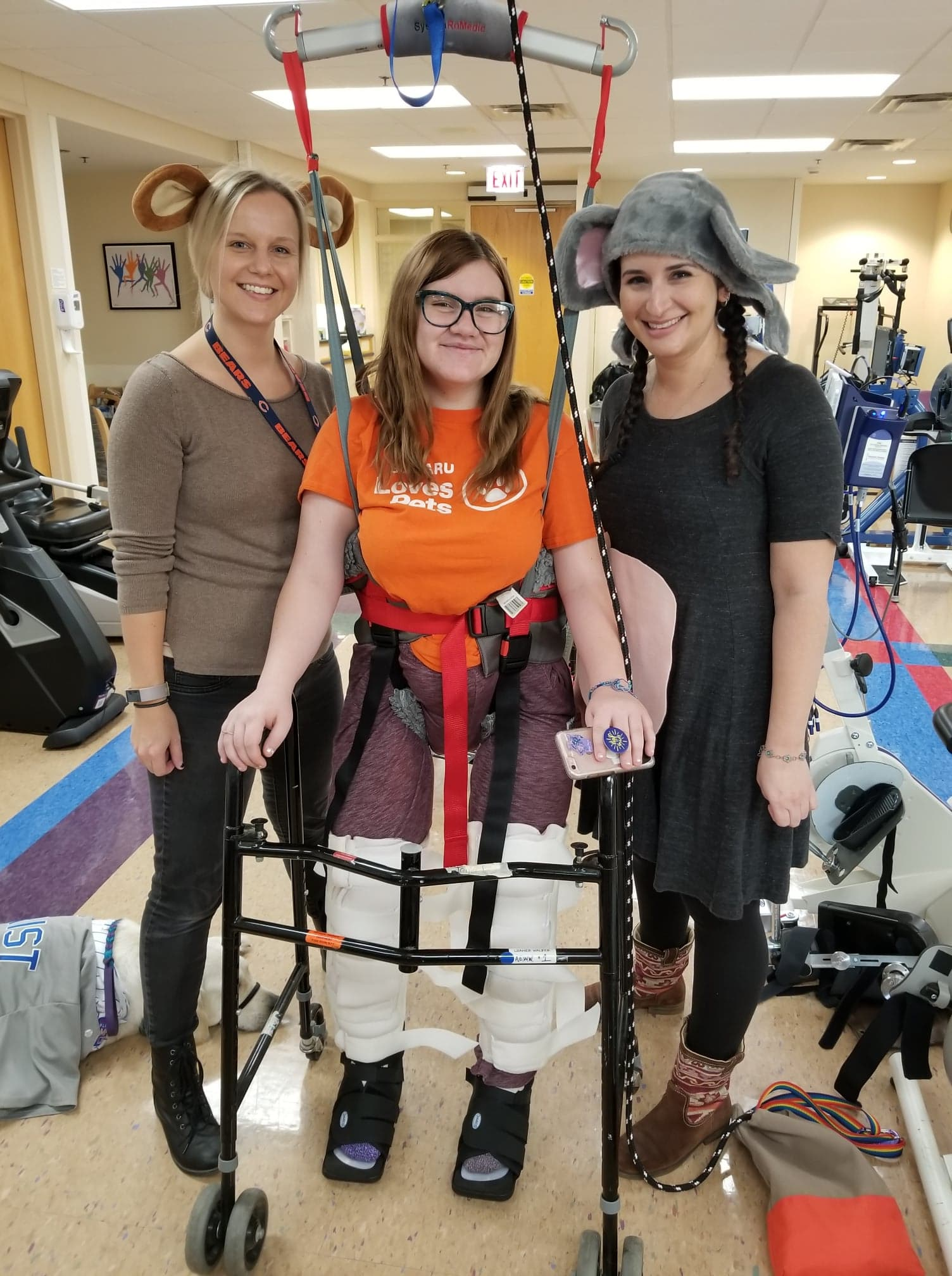 Donate - Taylor goes to X hours of PT and training which costs $X per hour