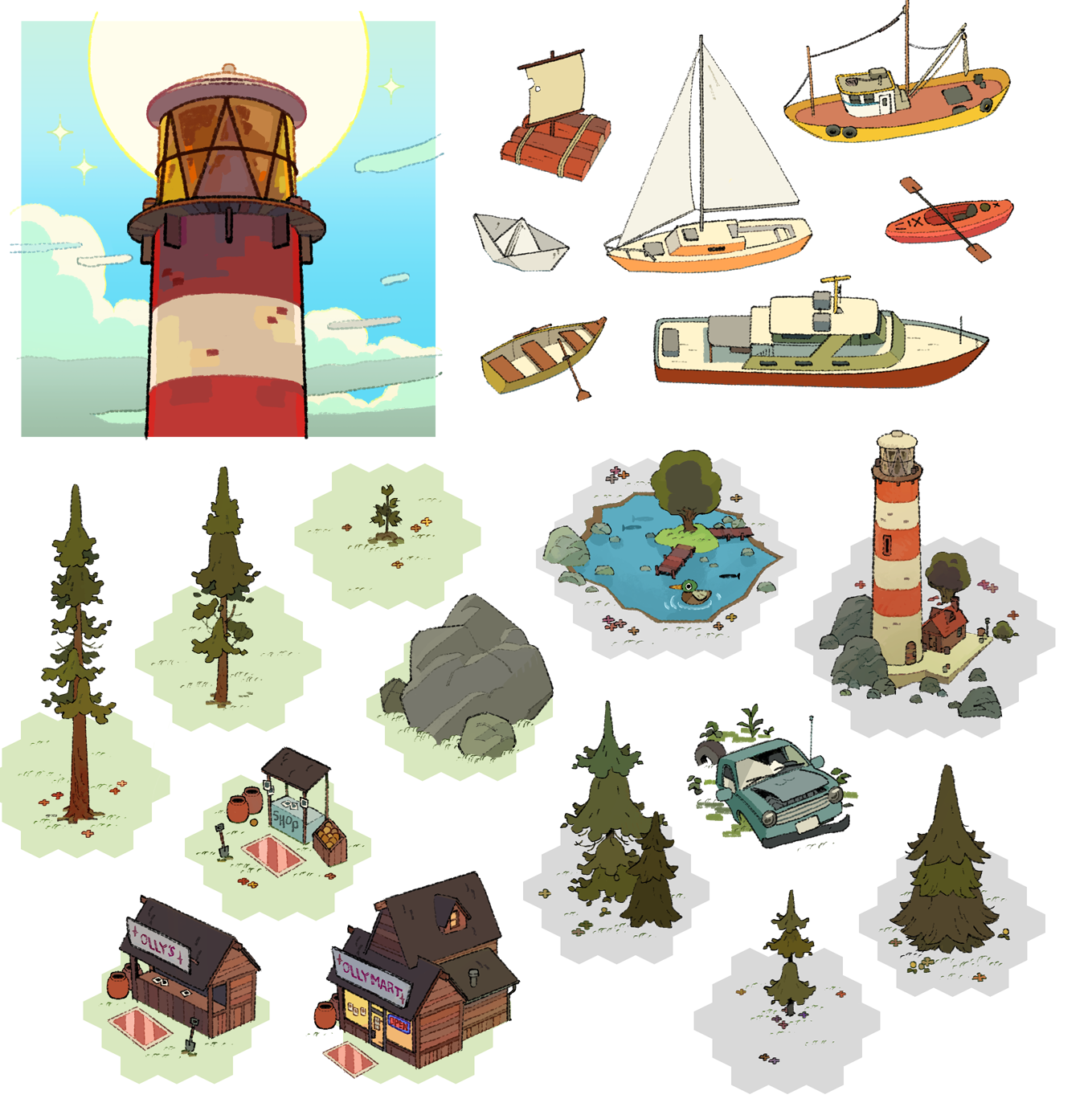 App icon and various assets.