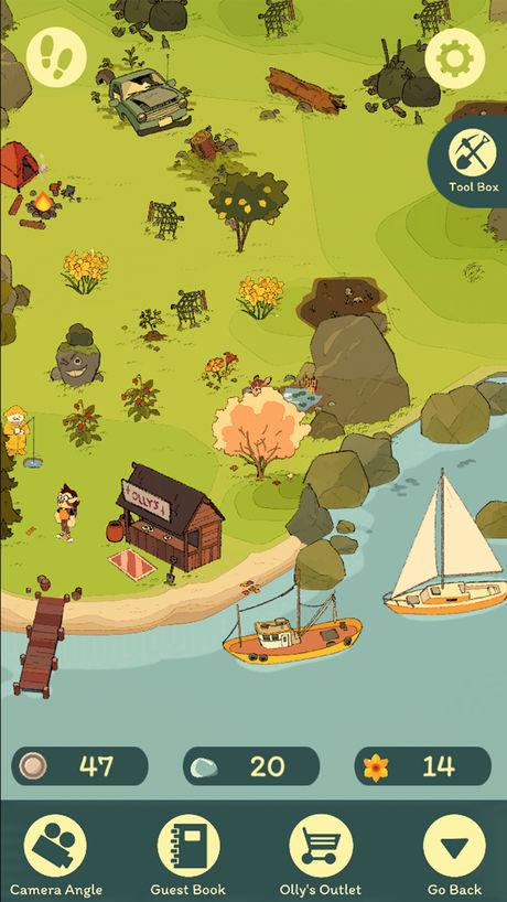 Stepstone Island  Gameplay