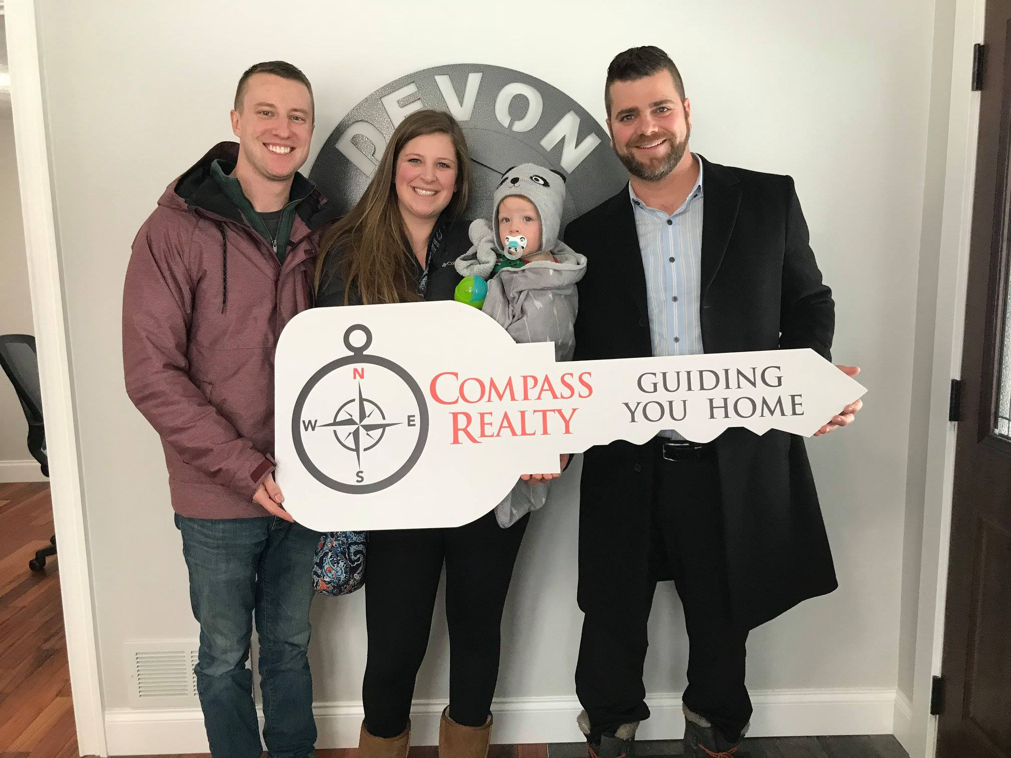 - Congratulations to Brandon and Aubry on your new home purchase in Paw Paw! It was an honor to represent you and your family through this process. Thank you for trusting us at Compass Realty to Guide you Home.
