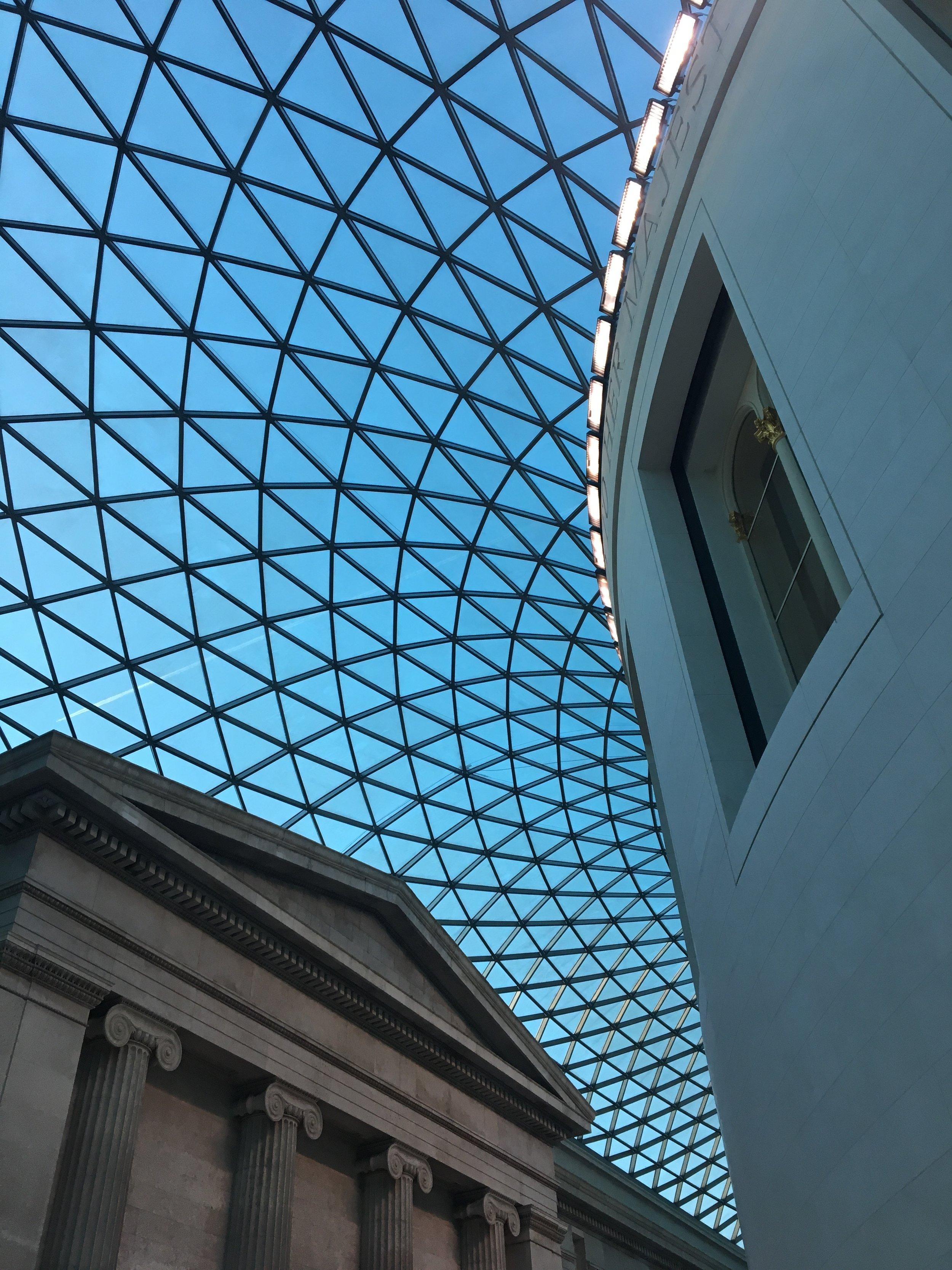 The British Museum's main hall.