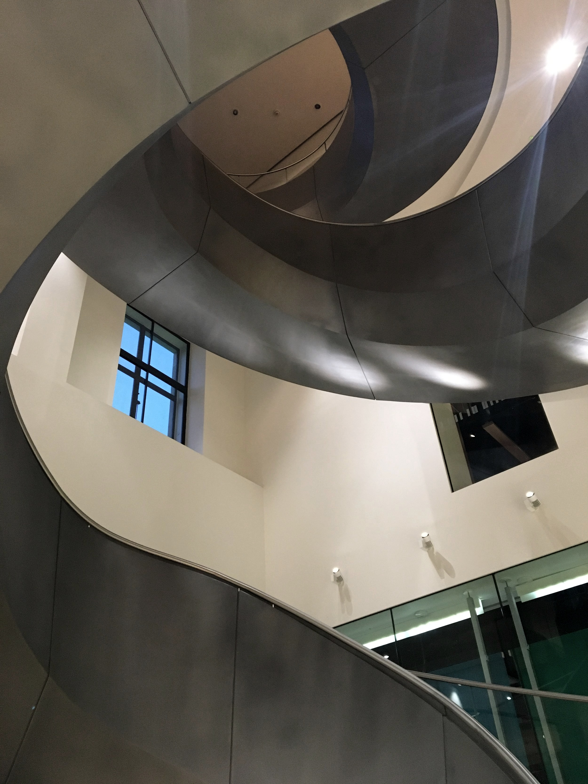 The Wellcome Collection staircase is one of my favourites in London.