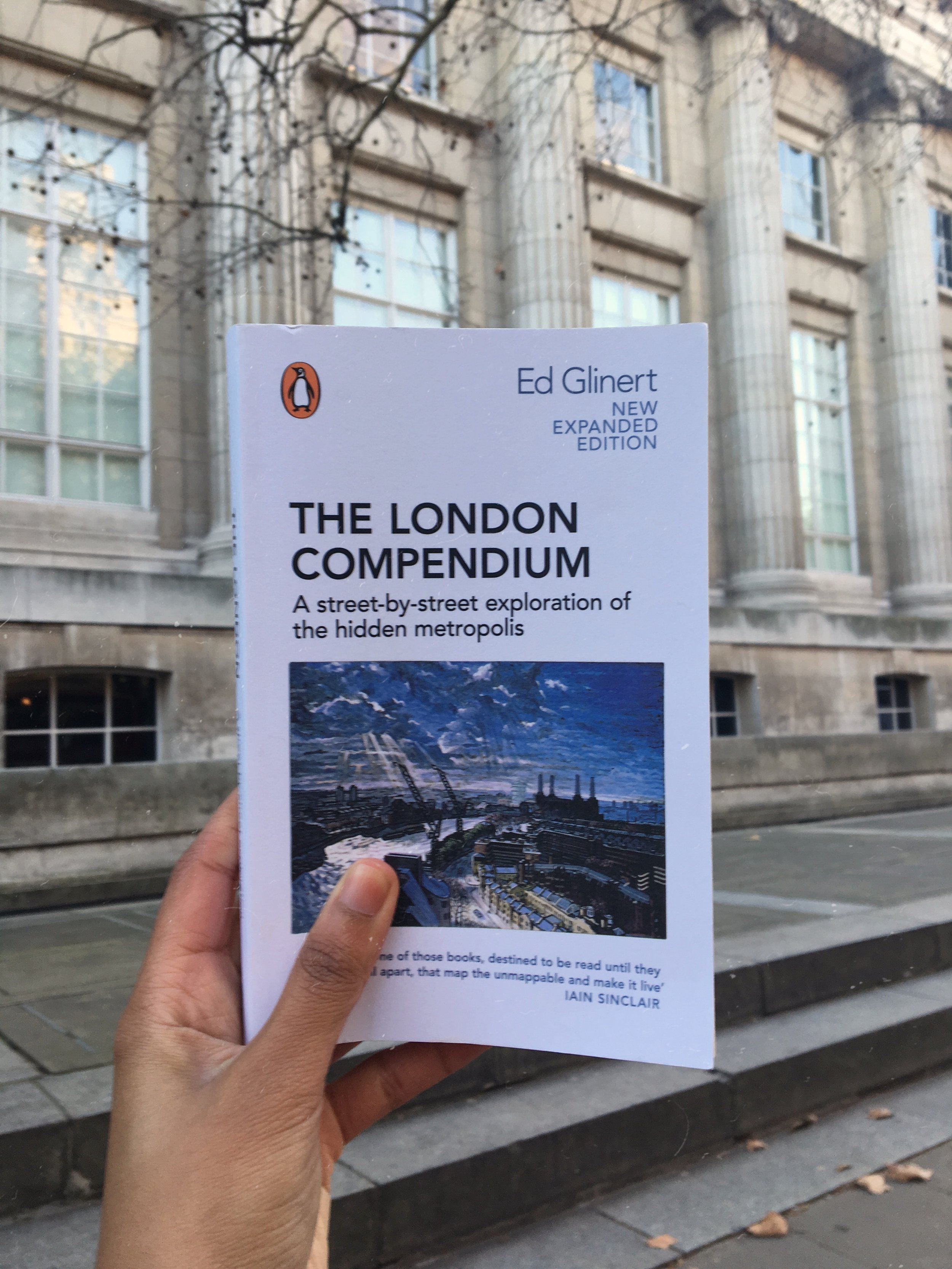 'The London Compendium' outside The British Museum.