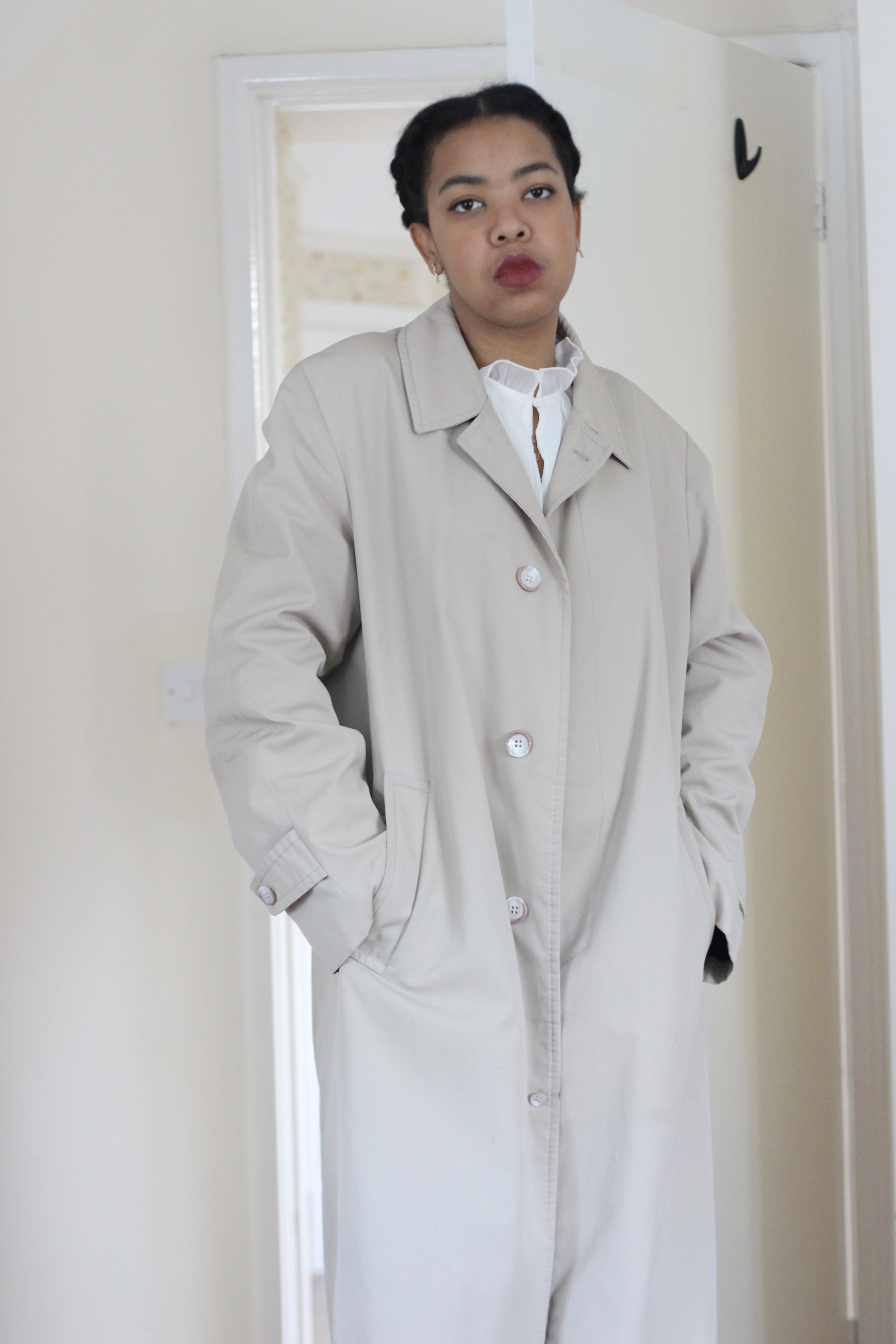 A Classic Trench - Vintage St. Martin's trench, £0 from clothes swap event