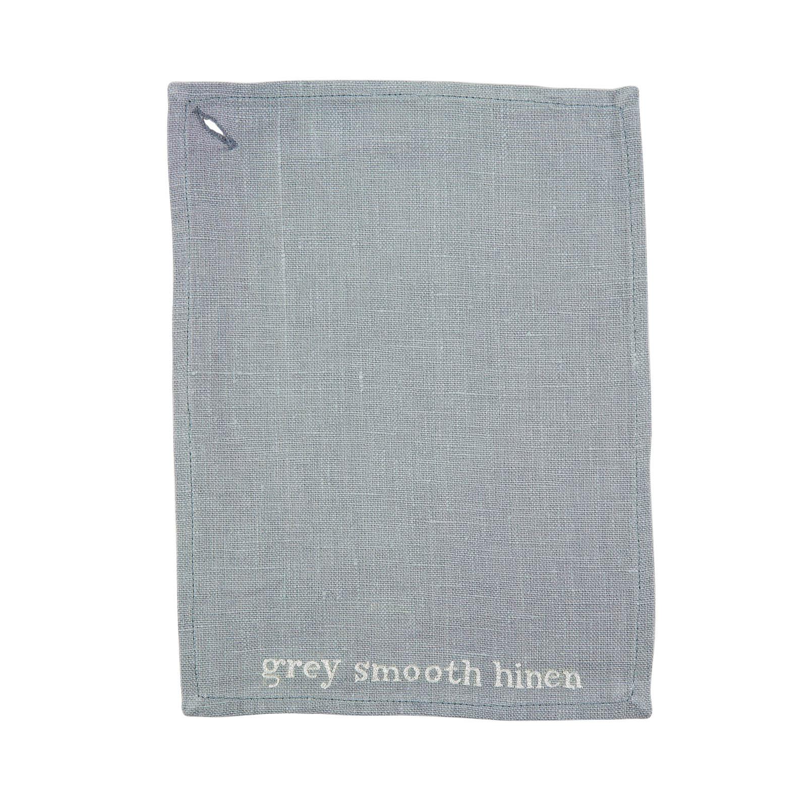 GREY SMOOTH LINEN