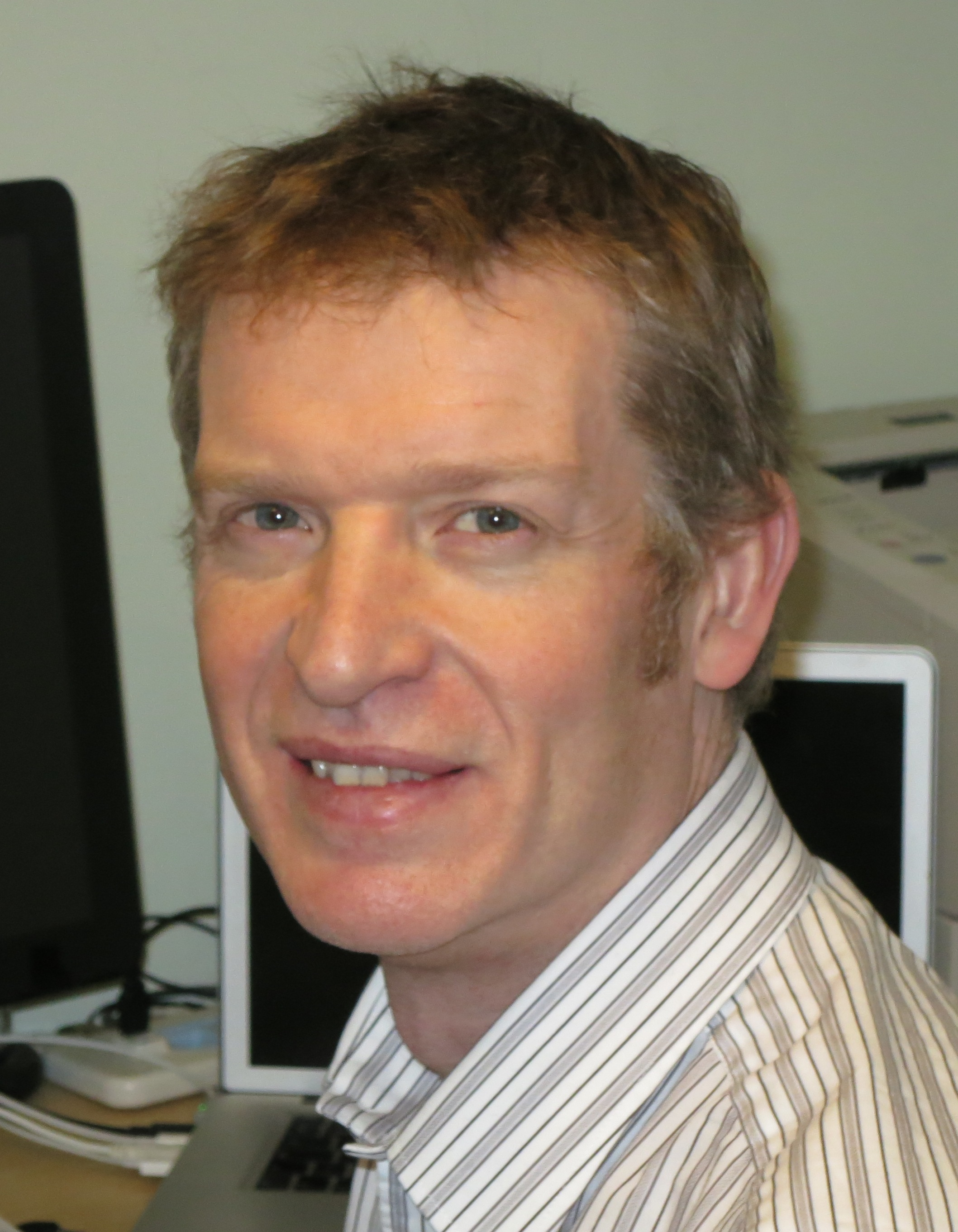John Roberts - Nuclear Fellow in the School of Physics and Astronomy, The University of Manchester.