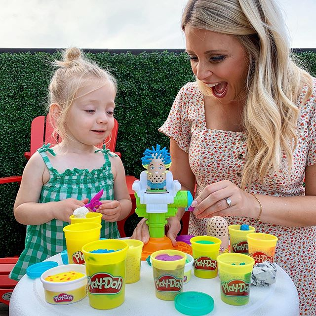 Reason number 8,364,752 being a parent is awesome. Playing with the things you did as a kid with your own kids. It's like getting another lap at childhood. We love products that stand the test of time and are quality-tested. @playdoh compound has been a trusted brand for over 60 years. And it's no surprise. Endless hours of fun and creativity for Bea. A little trip down memory lane for me. And a chance to make a few more memories together. Check out the link in my bio to shop Bea's PLAY-DOH favourites.  #Playdoh #Nontoxic #Trustedbrand #Imagination #Creativity #Play #Hasbro #Ad