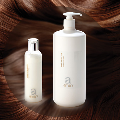 Hair is easy to detangle and becomes bouncy and shiny. Achieves color stabilization.