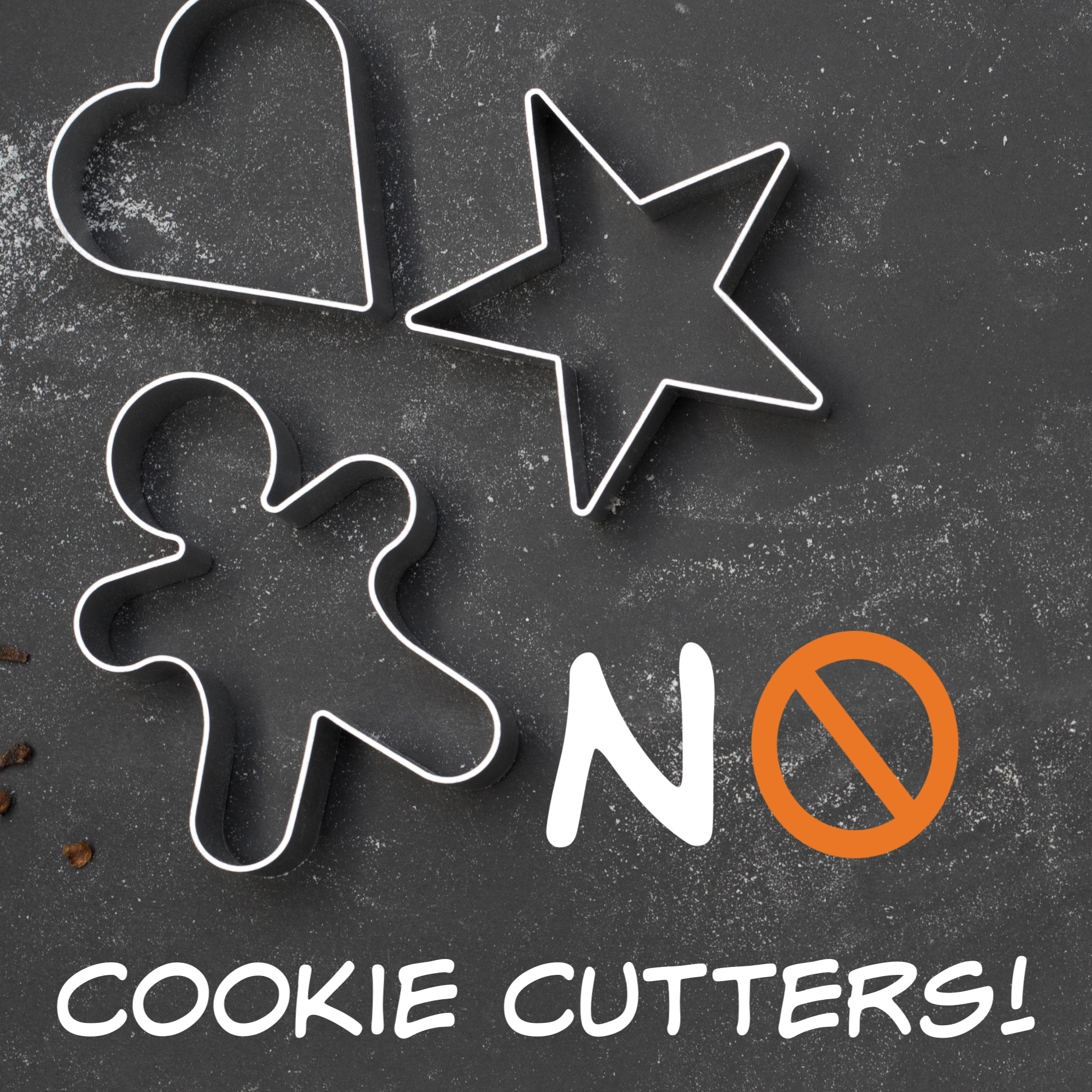 cookie cutters belong in the kitchen - Your needs are unique to your brand. Factors such as time and money necessitate that you prioritize and we'll help you understand which course of action will deliver the best results to you.Our 3-part process can be broken up, mixed and matched or delivered to you completely a la carte. Chat with us to learn more!