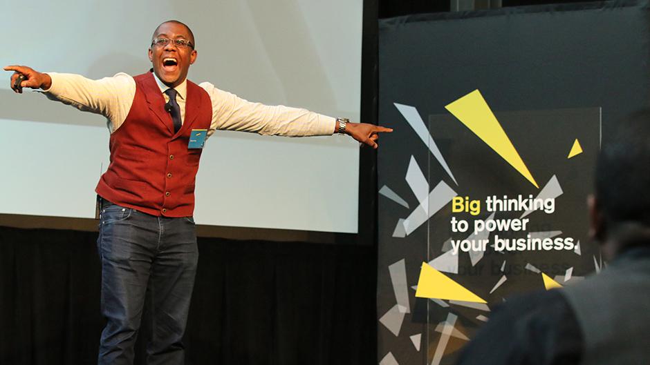 Keynote speaker, Ramon Ray