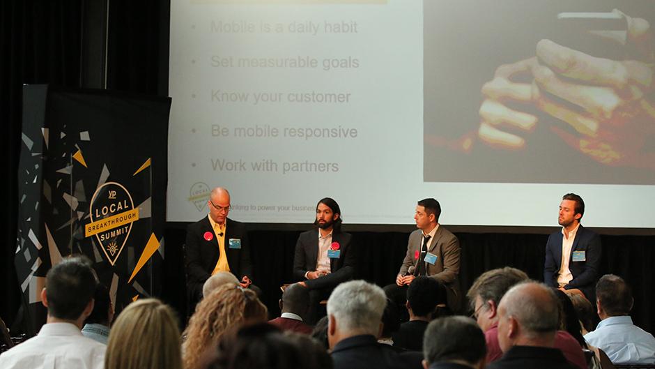Strategic partner panel (YP, Yahoo!, Google, Microsoft)