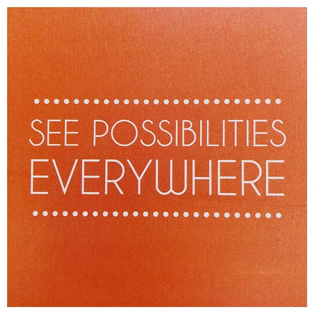 Wait...so where are the possibilities? Oh ya. They're everywhere! 👀🔍😊 Don't forget to open your eyes and see them! . . . #possibility #businessgoals #growyourbusiness #businessstrategy #branddevelopment #brandtrust #brandreputation #brandstory #buildyourbrand #creativepreneur #dontquityourdaydream #creativeminds #createeveryday #creativelifehappylife #successquote #successmindset
