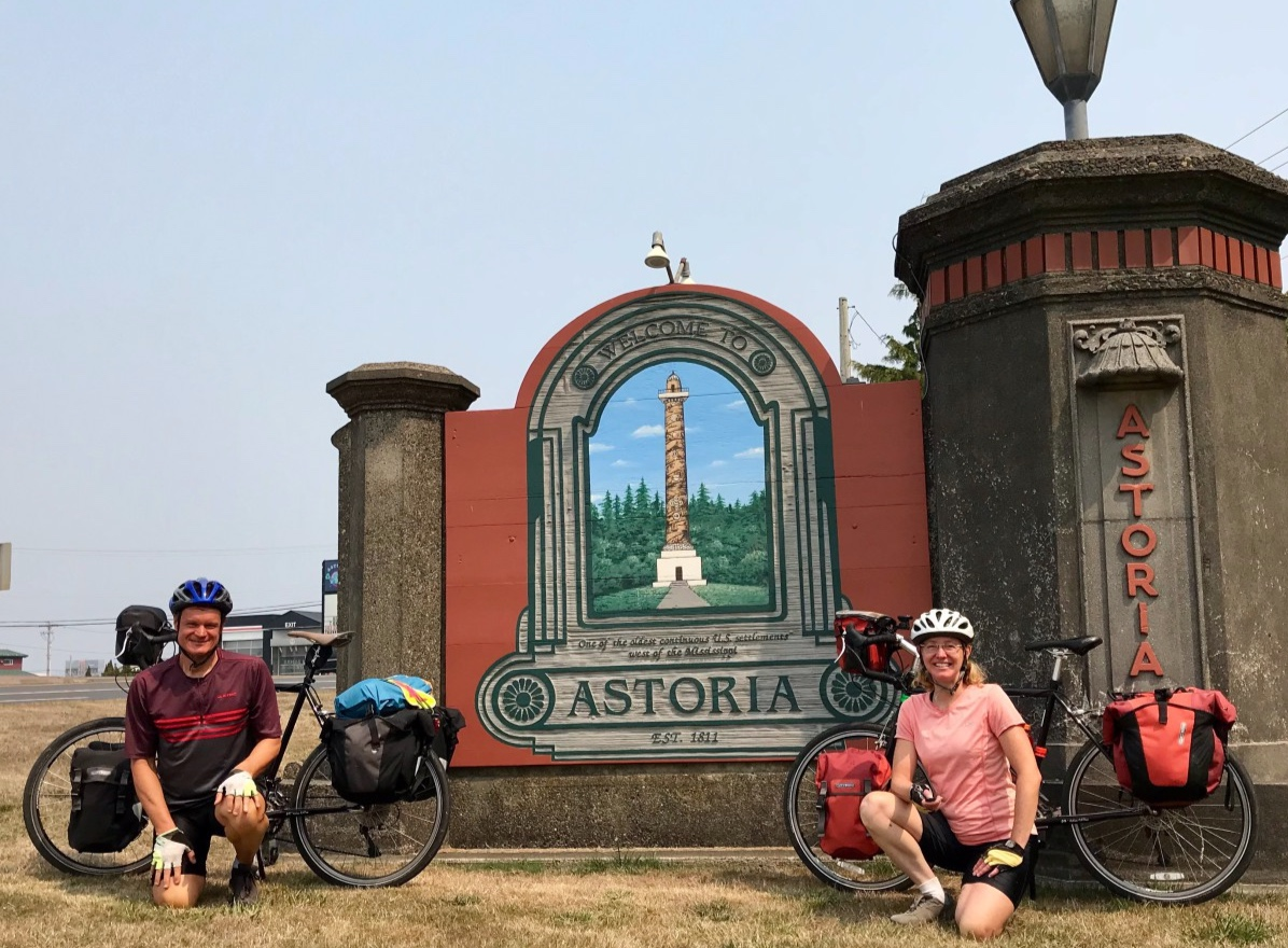 Our previous journeys - Click here to read about past bicycle tours