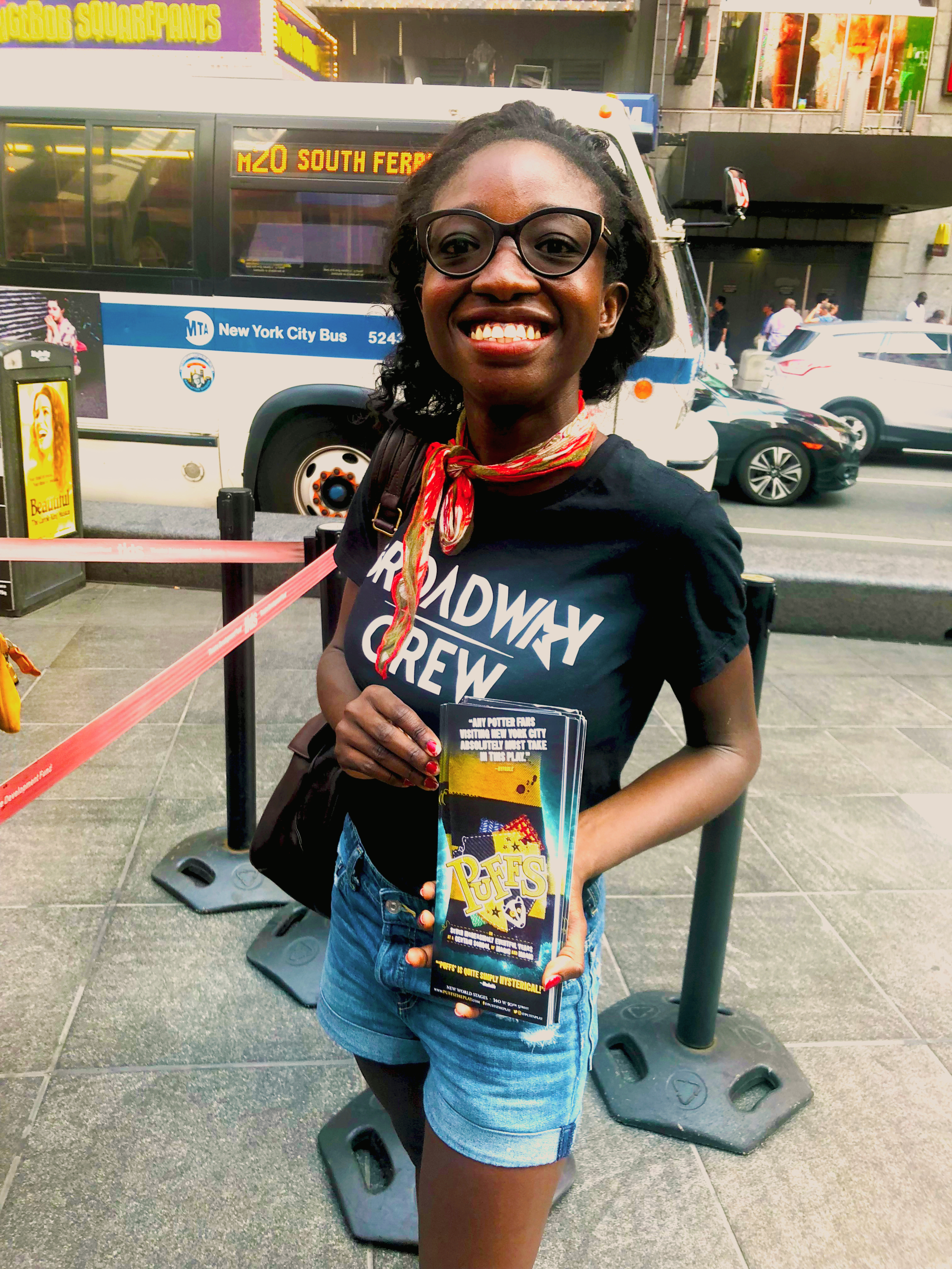 TKTS Representation and Promotions — Broadway Crew Street