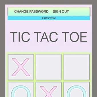 Tic Tac Toe - A cloud-based Single Page Application (SPA). GitHub was used for version tracking, HTML5 and CSS3 for design and page structure, JQuery for DOM manipulation and event handling, and AJAX for interacting with a pre-coded API which stores the 'state of the game'. The greatest challenge was writing the game logic code in Javascript - it was also the most rewarding!